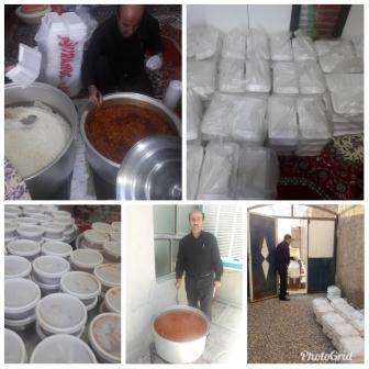 مشارکت اداره صمت شهرستان مهران در طرح ایتام ویژه ماه مبارک رمضان