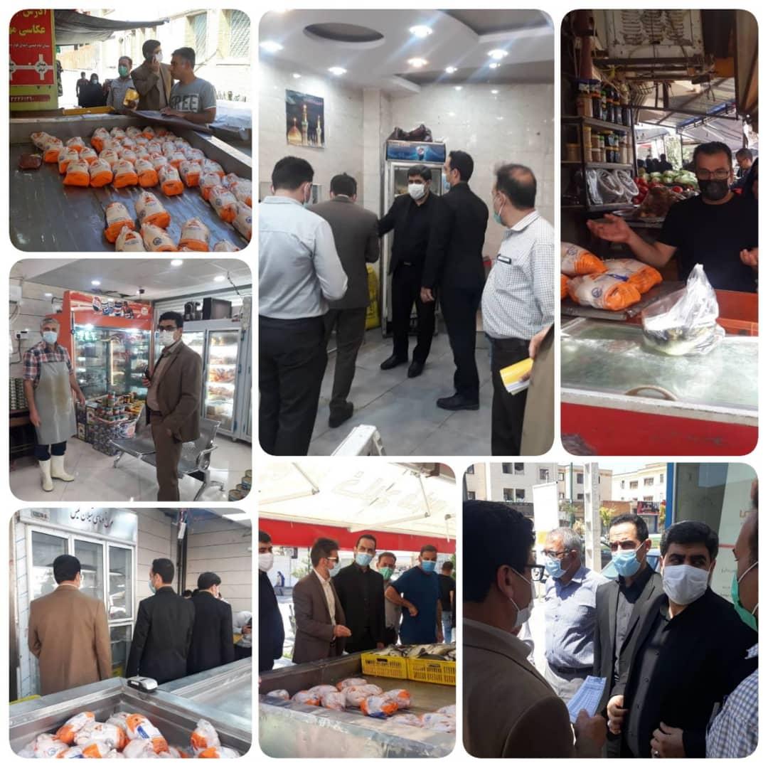 استمرار نظارت ها بر بازار فروش و توزیع مرغ در ایلام